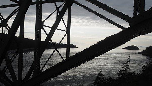 Bridge, Deception Pass, Anacortes, Structure