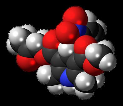 Aranidipine, Calcium Channel Blocker, Molecule, Model