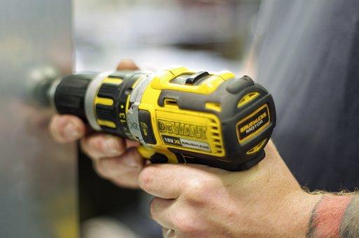 Dewalt, Cordless Screwdriver, Drilling, Tool, Craftsmen