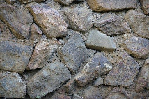 Stone, Natural, Wall, Texture