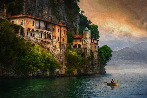 Water, Structure, Outdoors, Travel, Destination, Italy
