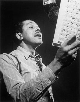 Jazz, Singer, Sing, Cab Calloway, Black And White, 1947