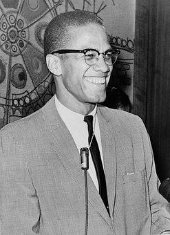 Man, African American, Black, Malcolm X, 1962