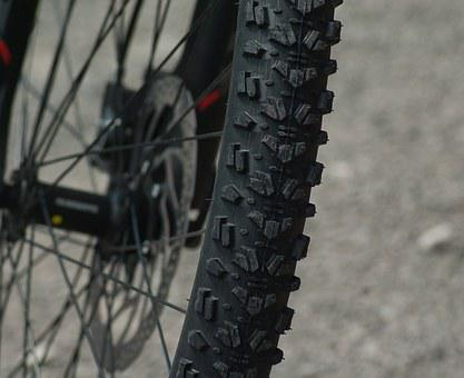 Mountain Biking, Wheel, Tire, Bike