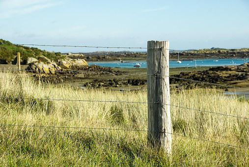 France, Normandy, Chausey Island