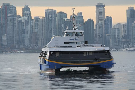 Ferry, Seabus, Public Transport, Vancouver, City