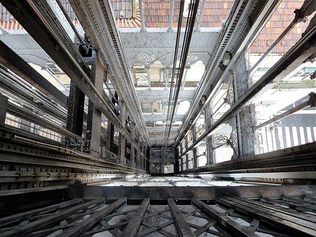 Construction, Cables, Elevator Shaft, Technique