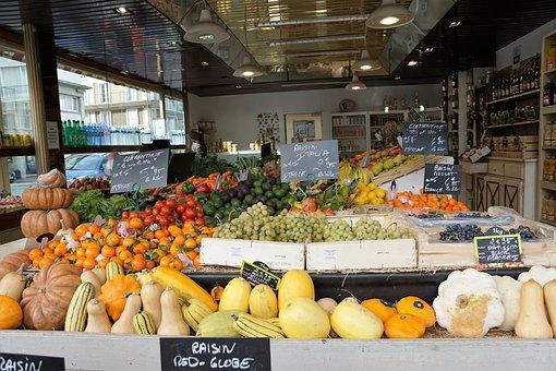 Market, France, Eat, Fresh, Vegetables, Fruit, Vitamins