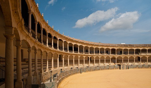 Ronda, Bull, Spain, Bullring, Europe, Arena, European