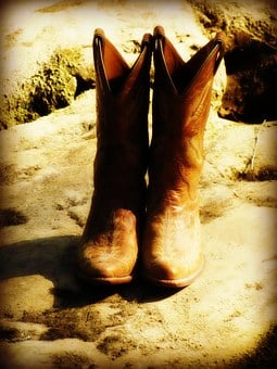 Boots, Cowboy, Cowgirl, Country, Western, Fashion
