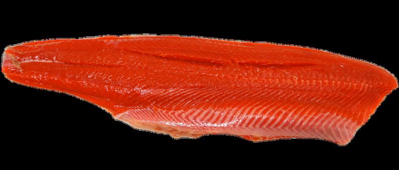 Wild, Sockeye, Salmon, Fillet, Seafood, Fish, Alaska
