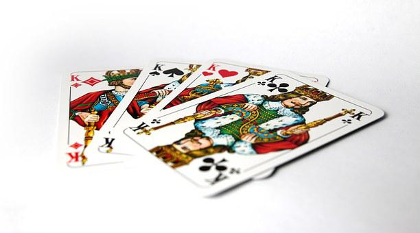 King, Poker, Four, Four Kings, Cards, Card Game, Play
