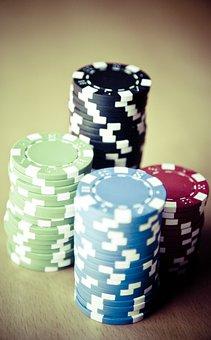 Poker, Chips, Gambling, Casino, Profit, Poker Game