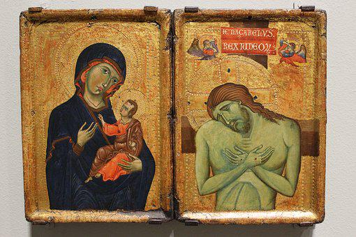 Christ, Middle Ages, Art, Icon, Religion, Church