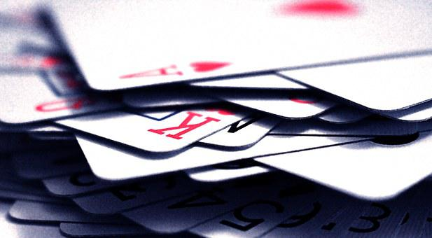 Poker, Playing, King, Ace, Game, Gambling, Card, Hearts