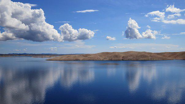 Mirror, Clouds, Reflection, The Coast, Sky, Summer
