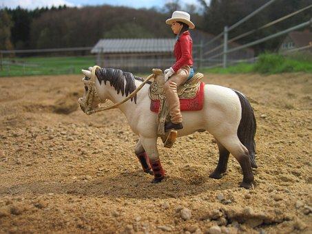 Schleich, Horse, Horsewoman, Toys, Schleichtier