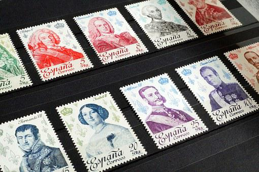 Stamps, Stamp Collection, Philately, Collection, Post