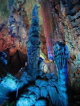 Karst, Cave, Rock, Guilin, Stone