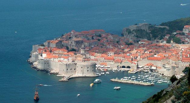 Dubrovnik, City, Croatia, View, Summit