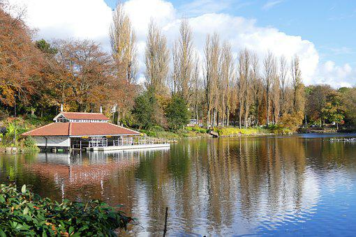 Walsall Arboretum, Walsall, Attraction, Autumn, Boat