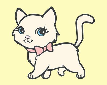 Cat, Kitty, Kitten, Nursery Kitten, Images For Kids