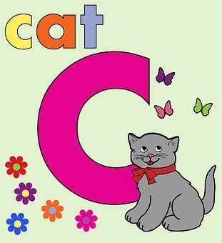 Letter C, C, Alphabet Letter C