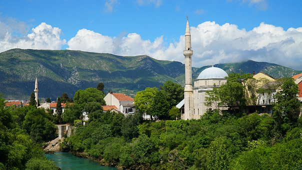Mostar, The Balkans, Cami