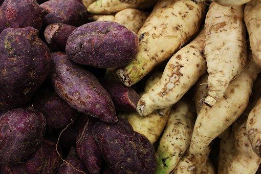 Sweet Potato, Sweet Potato Background, Potato, Potatos