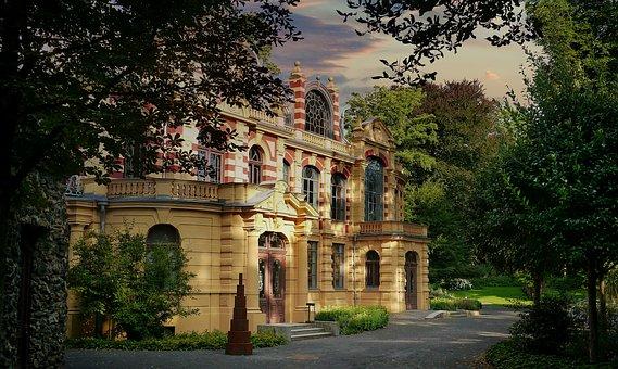 Castle, Castle Park, The Castle Theatre, Augsburg