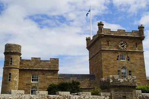Culzean Castle, Castle, Scotland, Architecture, Tourism