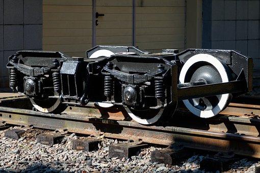 Trolley, Rims, Railway Carriage, Train, Rails, Track
