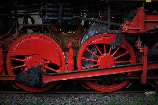 Railway, Railway Museum, Wheels, Railway Wheels