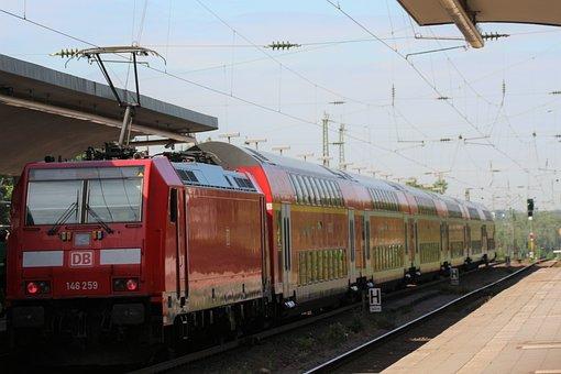 Train, Db, Railway, Rail Traffic, S Bahn, Transport