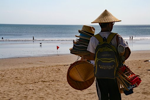 Bali, Kuta, Indonesia, Beach, Sea, Vacation, Holiday