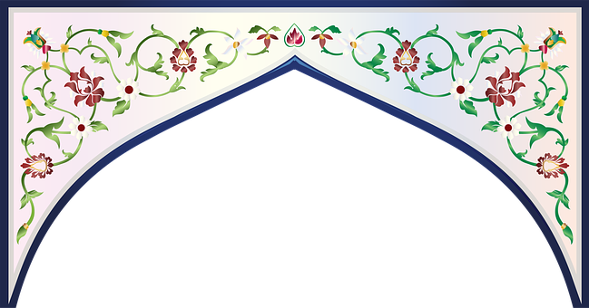 Graphic, Taj Mahal, Inlay, Spandrel