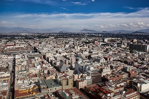 Cdmx, Mexico, City, Tourism, Latino, America, East, Air