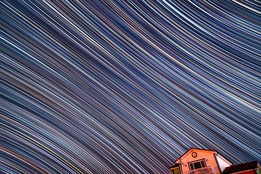 Startrail, Starstax, Night Scape