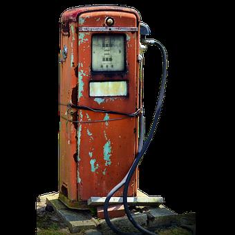 Gas Pump, Old, Rusty, Petrol, Fuel, Gas, Vintage