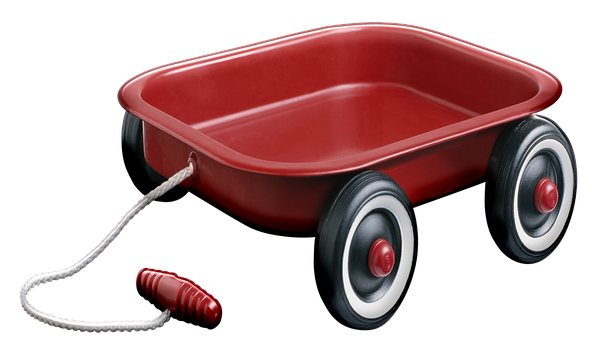 Red Wagon, Toy, Child, Wagon, Red, Cart, Trolley, Kids