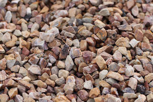 Rocks, Pebbles, Granite, Red, Quartz, Marble, Stones