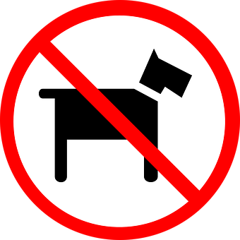 No, Pets, Allowed, Dogs, Sign, Signage
