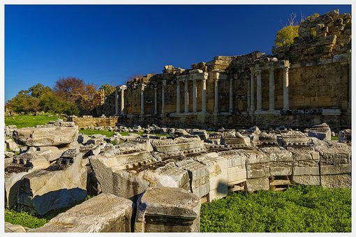 Ancient, The Ruins Of The, Temple, Architecture