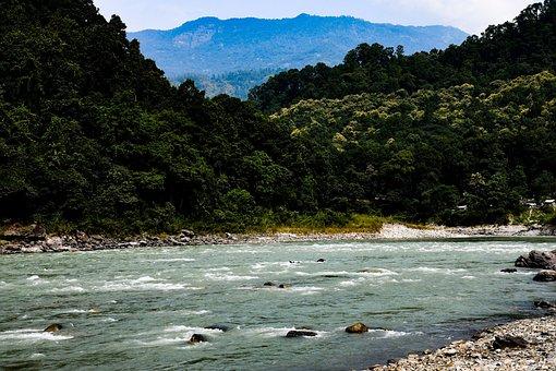 Teesta, River, Himalaya, Travel, Mountains, Tourism