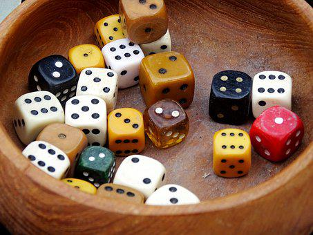 Cube, Luck, Play, Gambling, Pay, Casino, Random, Chance