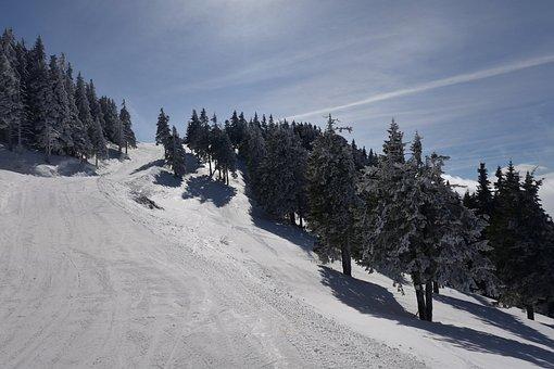 Mountain, Snow, Landscape, Winter
