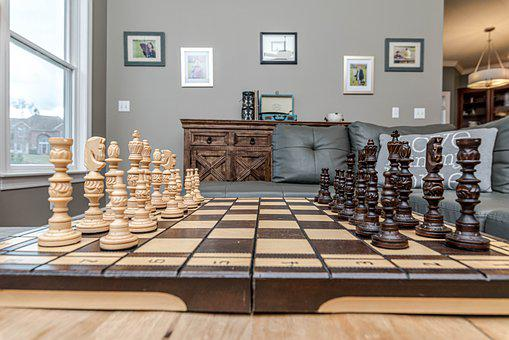 Chess, Board, Game, Wood, Pawn, Strategy
