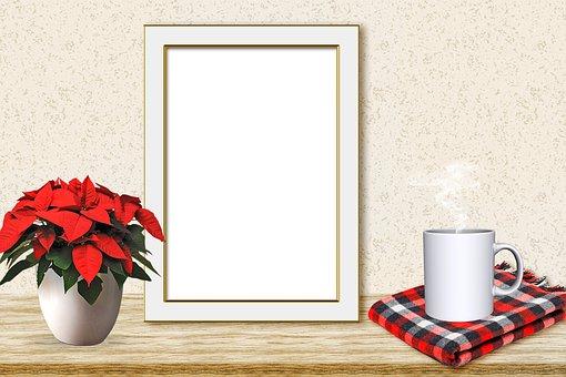 Christmas Mock Up, Christmas, Frame, Mock Up