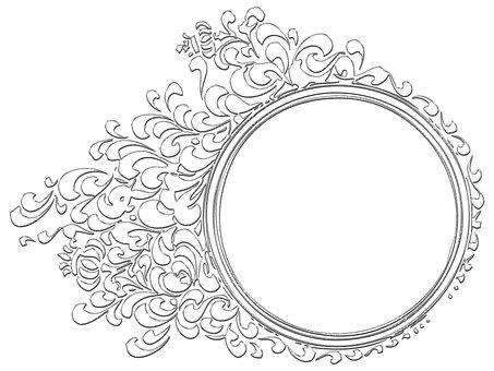 Frame, Frame Illustration, Frame Drawing, Frame Picture