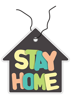 Stay Home, Safe, Covid-19, Isolation, Infection, Home